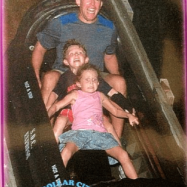 Too Much Fun on the Coaster