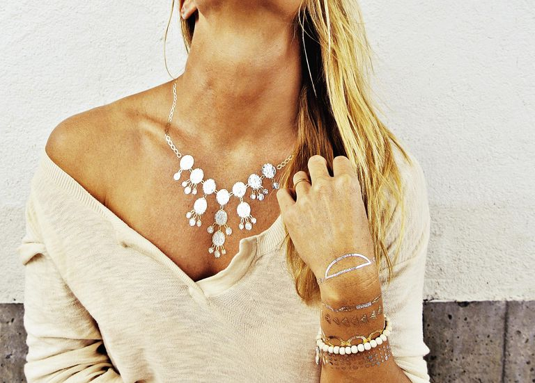Temporary Tattoos That Look Like Jewelry