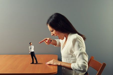 Intimidation And Other Signs Of Spousal Verbal Abuse