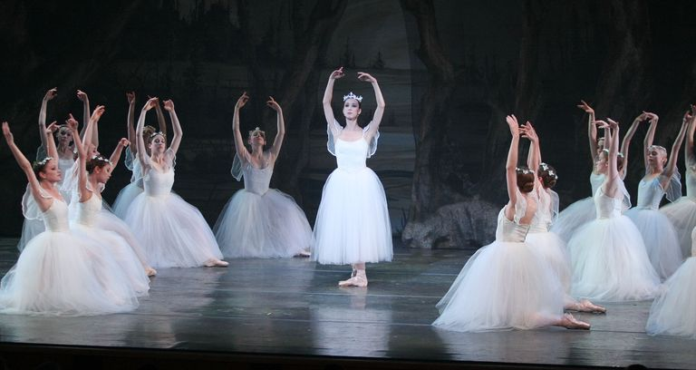 Adolphe Adam's ballet, Giselle, is performed during the Gala Celebration Season 5 at The Broad Stage on May 28, 2011, in Santa Monica, California.