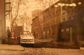 Street scene from The Godfather video game