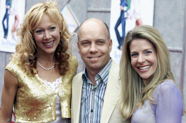 Lynn-Holly Johnson, Scott Hamilton, and Tracie Hamilton