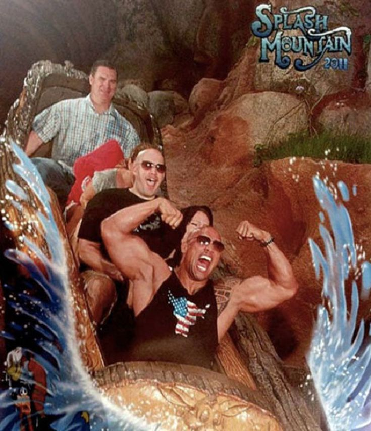 splash mountain The Rock 56e81c6e5f9b5854a9f97b45 - Great funny splash mountain photos