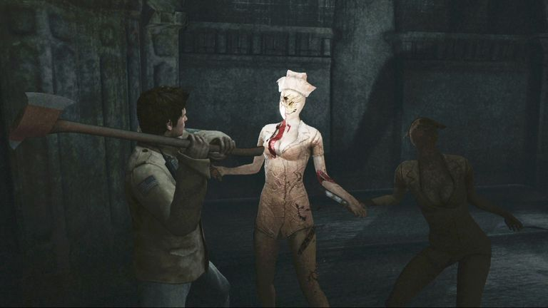 Silent Hill Homecoming scene