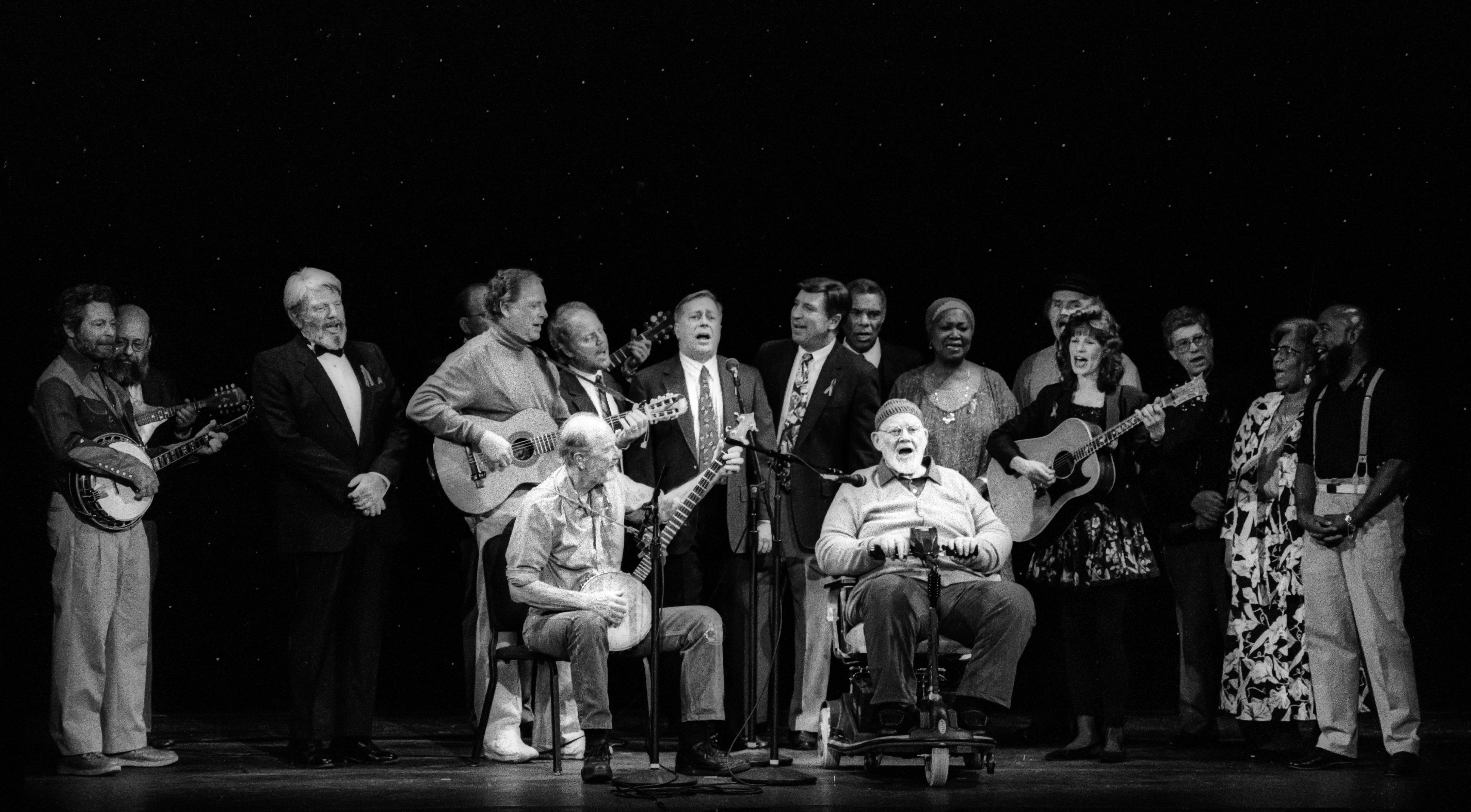 Folksongs USA Benefit At The 92nd St Y