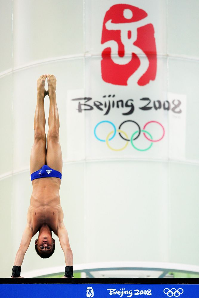 British Diver Thomas Daley