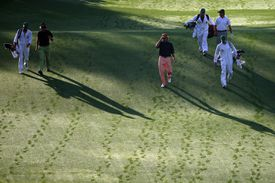 Masters groupings and tee times