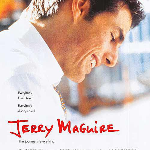 Movie poster for Jerry Maguire