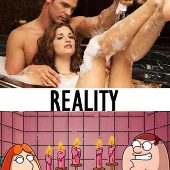 Expectations vs Reality: Sharing a Bath