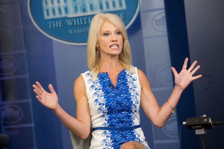 Kellyanne Conway Interviewed at the White House