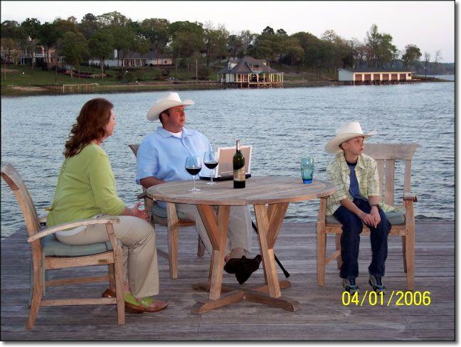 Cruz family during Money Magazine photo shoot at the 2005 HGTV Dream Home.