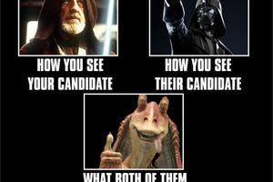 Star Wars comparison of candidates