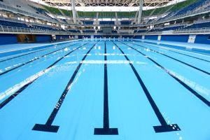 Rio olympic swimming pool