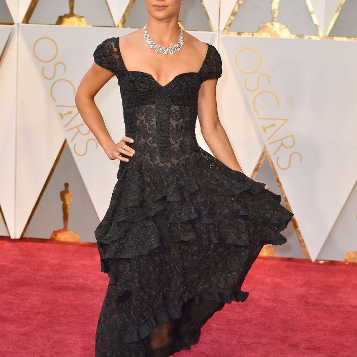 Alicia Vikander at the Oscars 2017