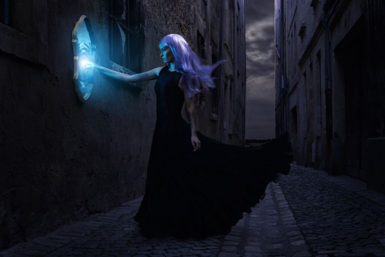 A Woman Wields Magic