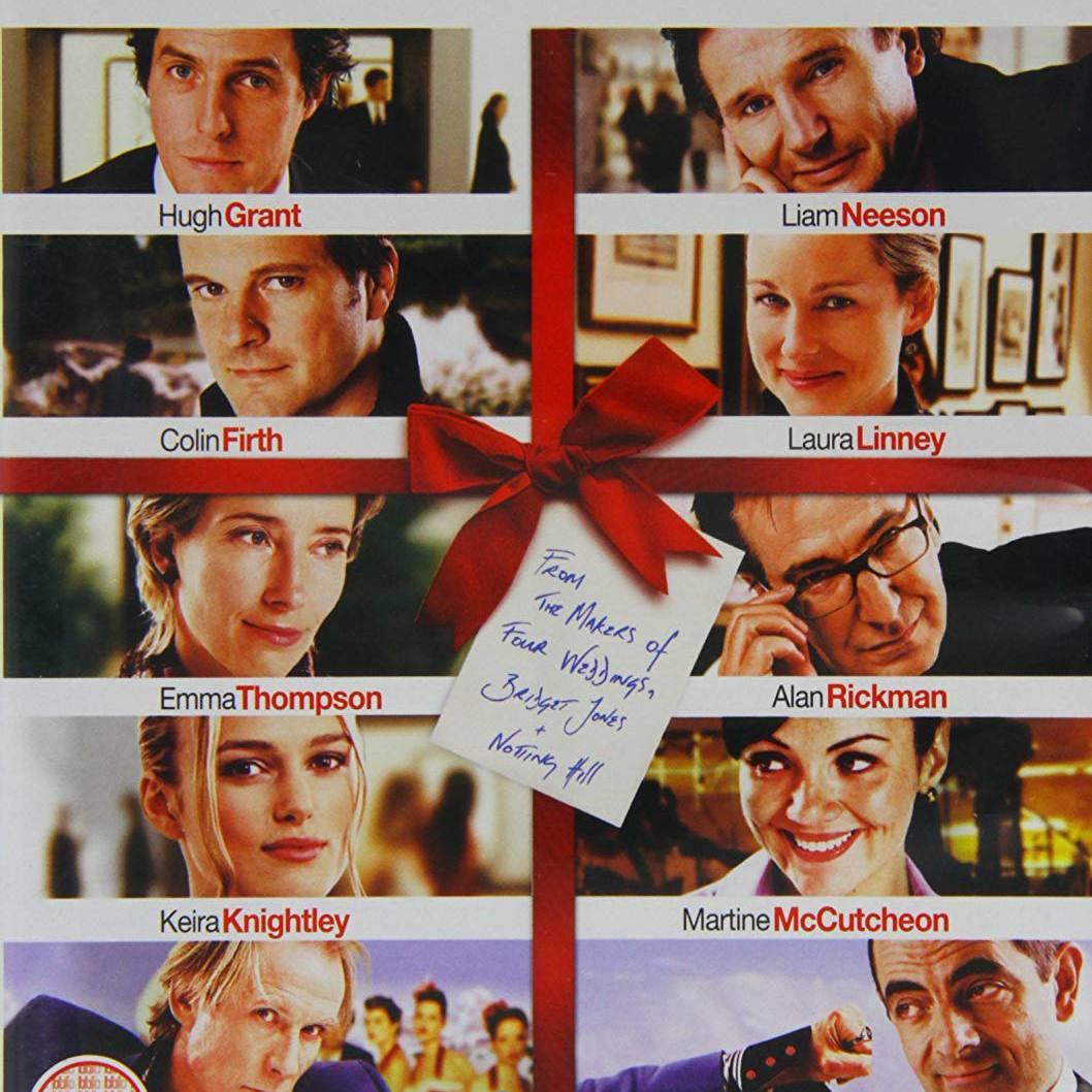 """""""Love Actually"""" DVD cover."""