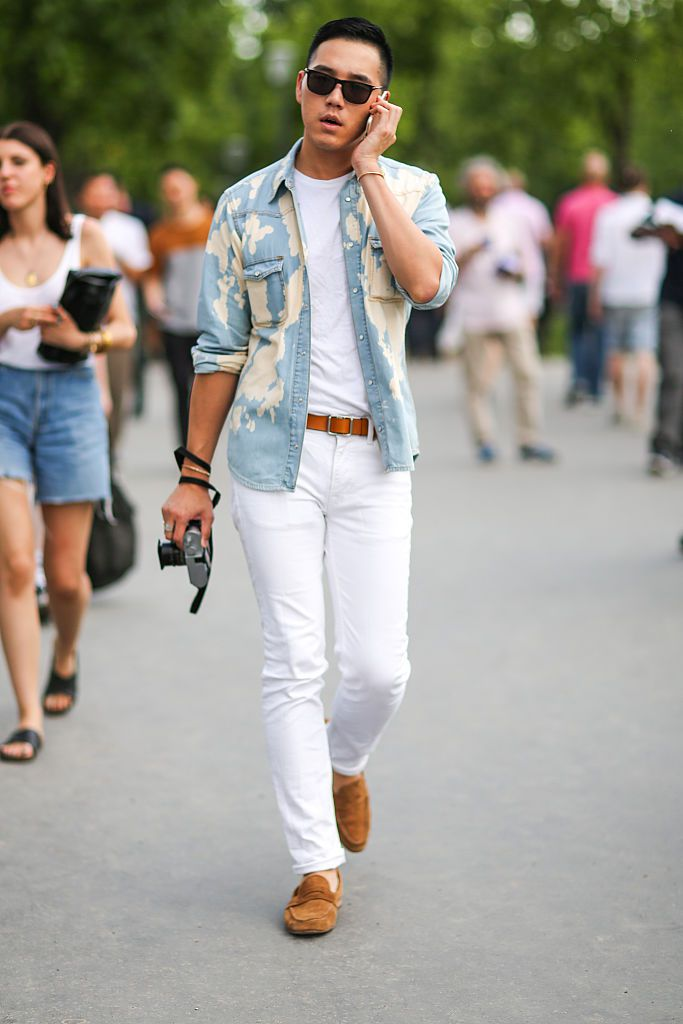 61bde0d578 Men s Fashion Trend - How to Wear White Jeans for Men