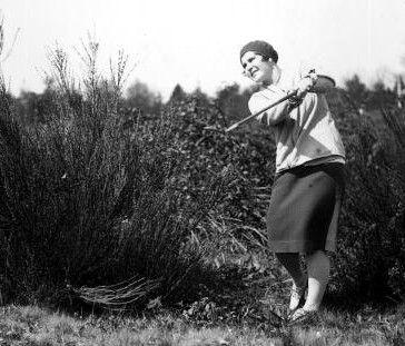 Golfer Helen Hicks in 1930