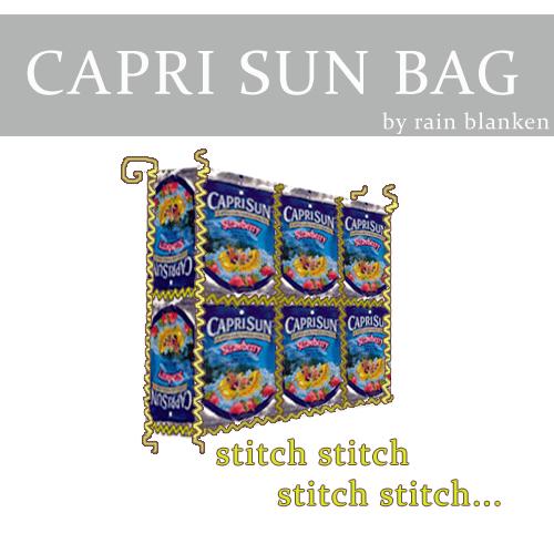 Capri Sun Drink Pouch Bag