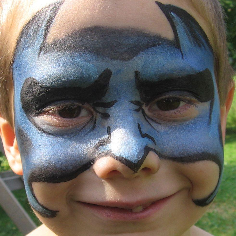 Face Painting Designs -- Bat