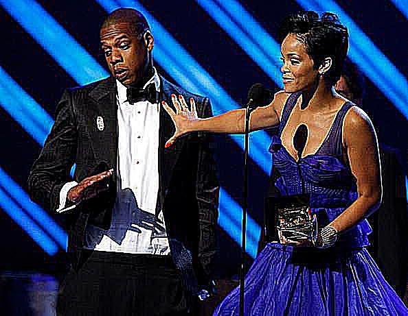 Rhianna and Jay-Z