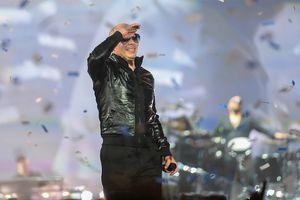 Pitbull in concert