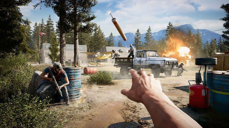 Screenshot of Far Cry 5