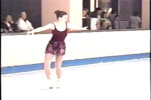 Lisa Ferris - Blind and Deaf Figure Skater
