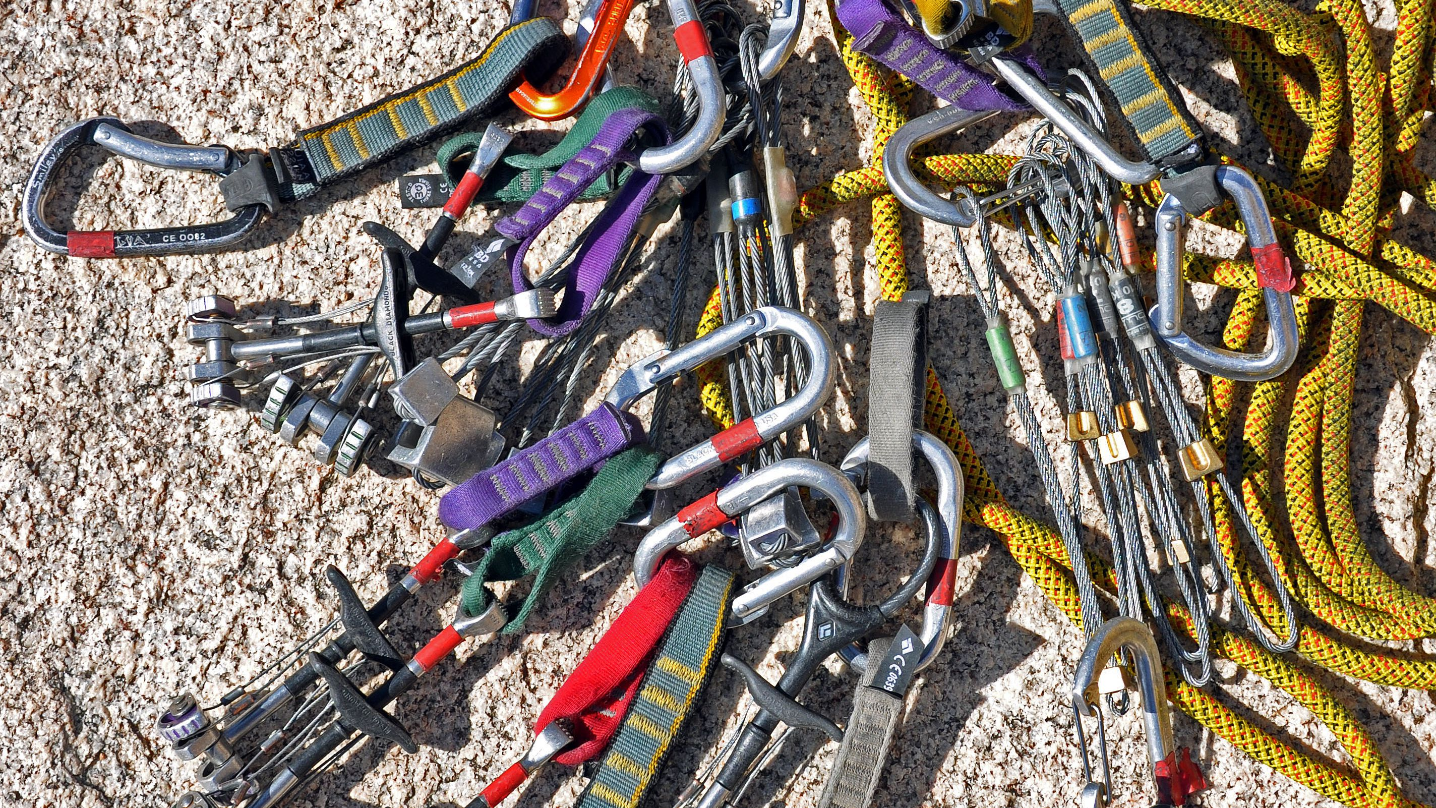 Carabiners are Essential Climbing Equipment
