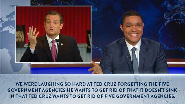 Trevor Noah on Ted Cruz