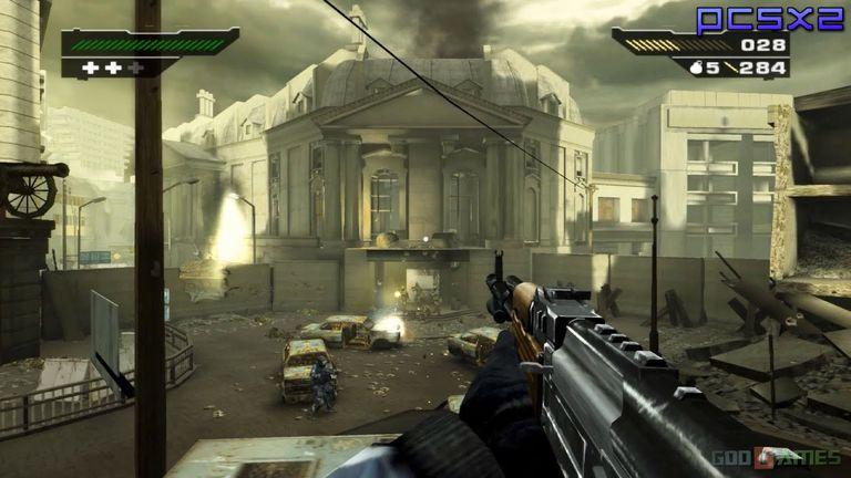 Screenshot of Black game on PS2
