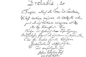 Title page of Das Wohltemperirte Clavier, The Well-Tempered Clavier (Book 1, 1722)