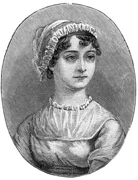 Jane Austen (1775-1817), English Novelist