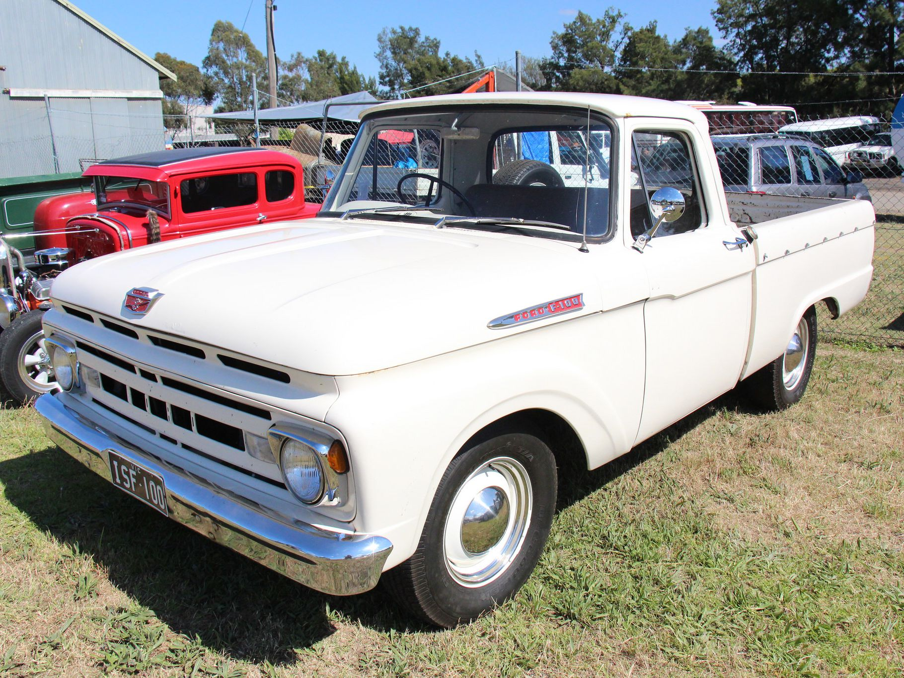 Ford F Series Pickup Trucks History 1961 1966