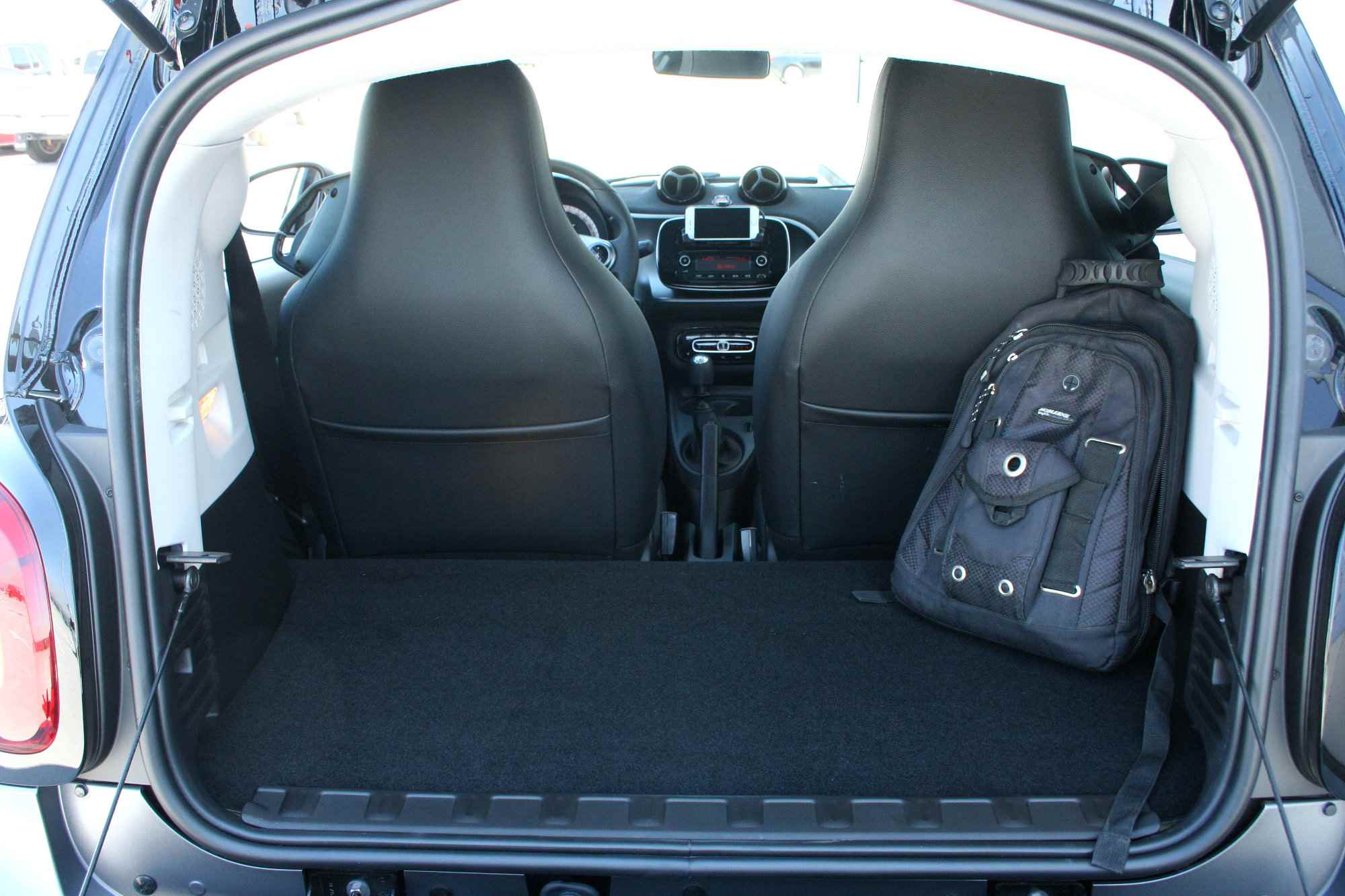 2016 Smart Fortwo Trunk