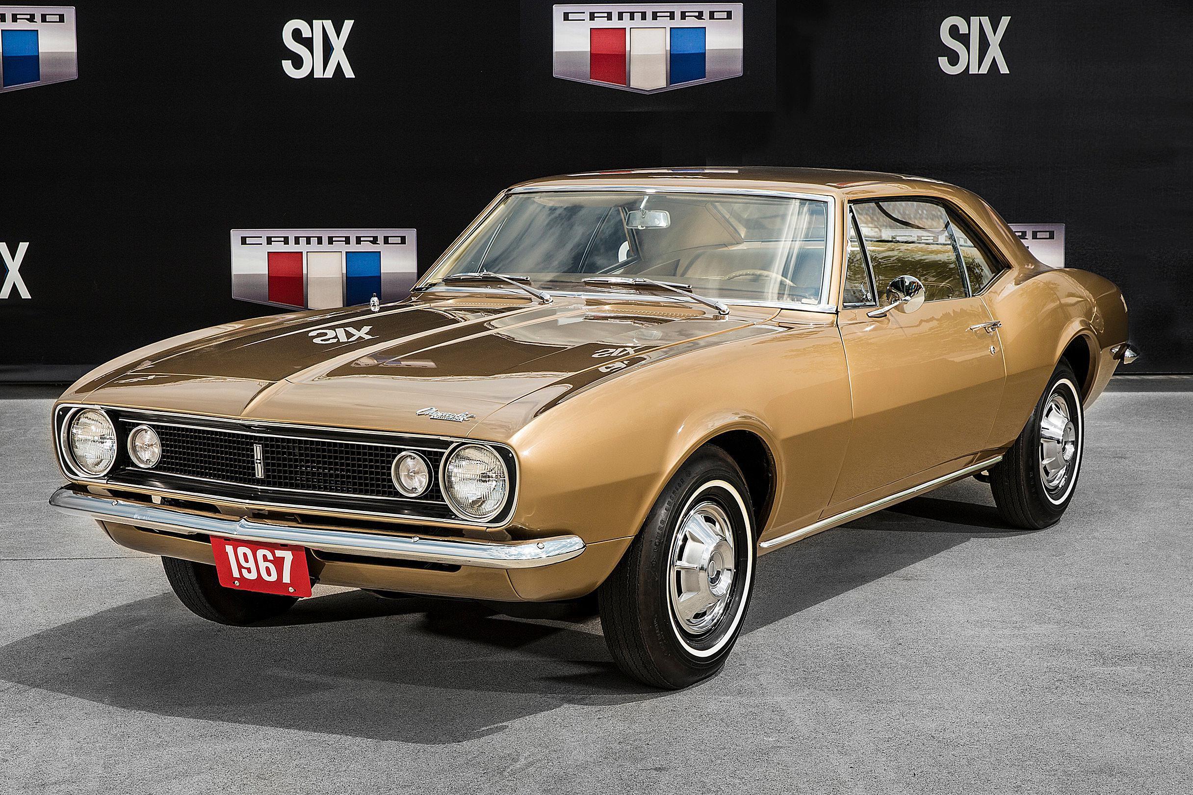 1967 Camaro Vin 10001