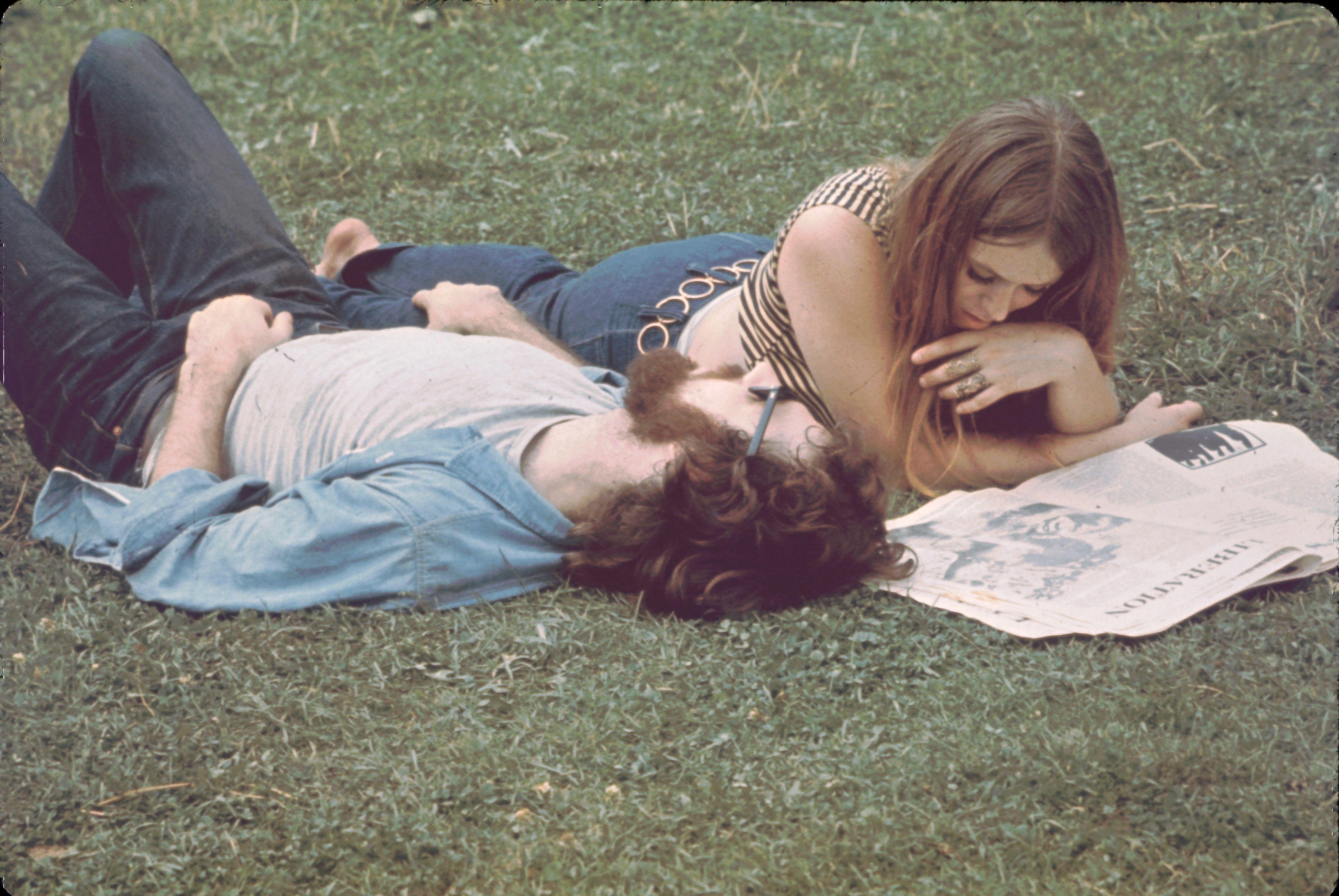 Reading At Woodstock