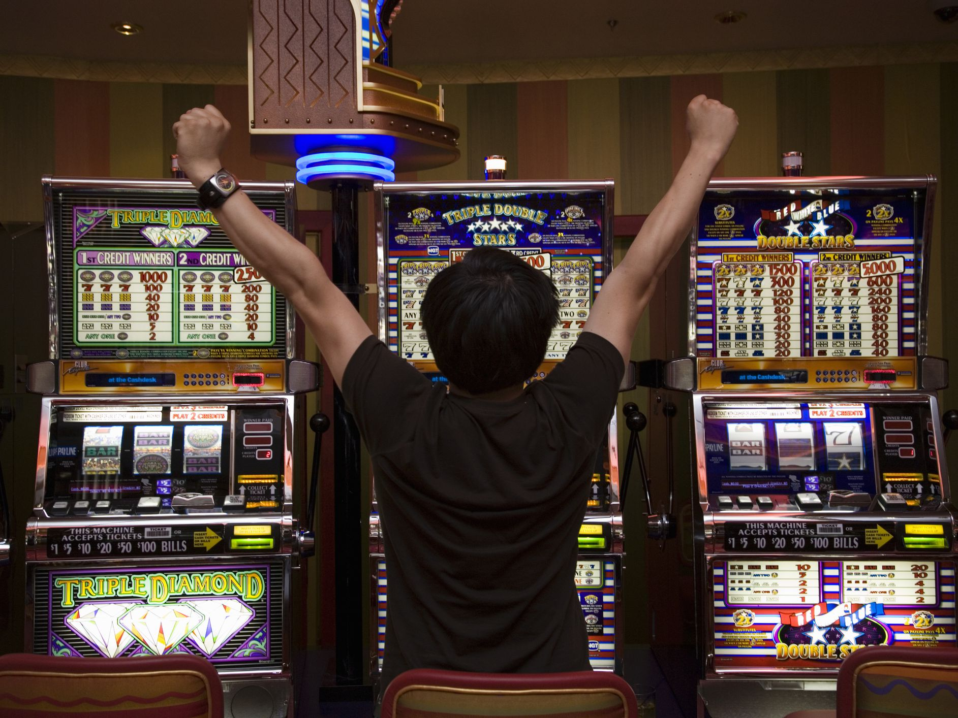Slot Machine Payout State California