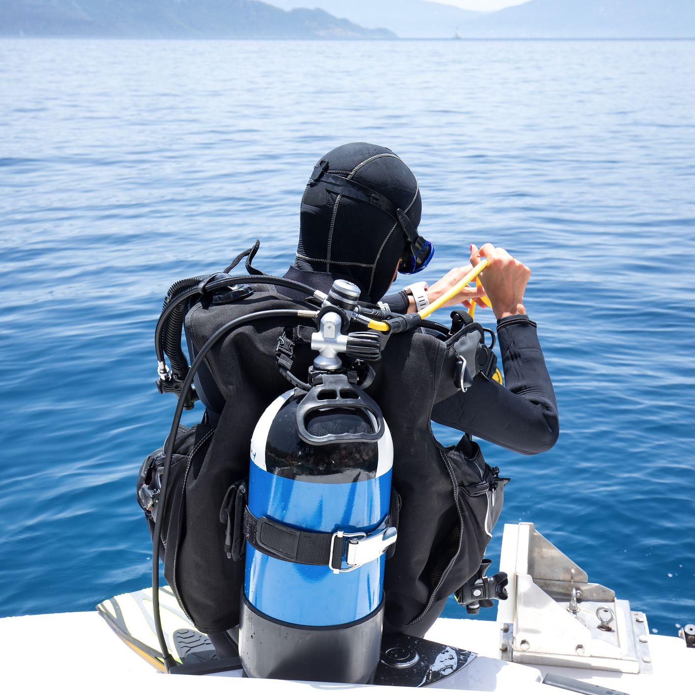 Scuba Diving Cylinder Dive DIN to Yoke Converter First Stage Regulator Adaptor