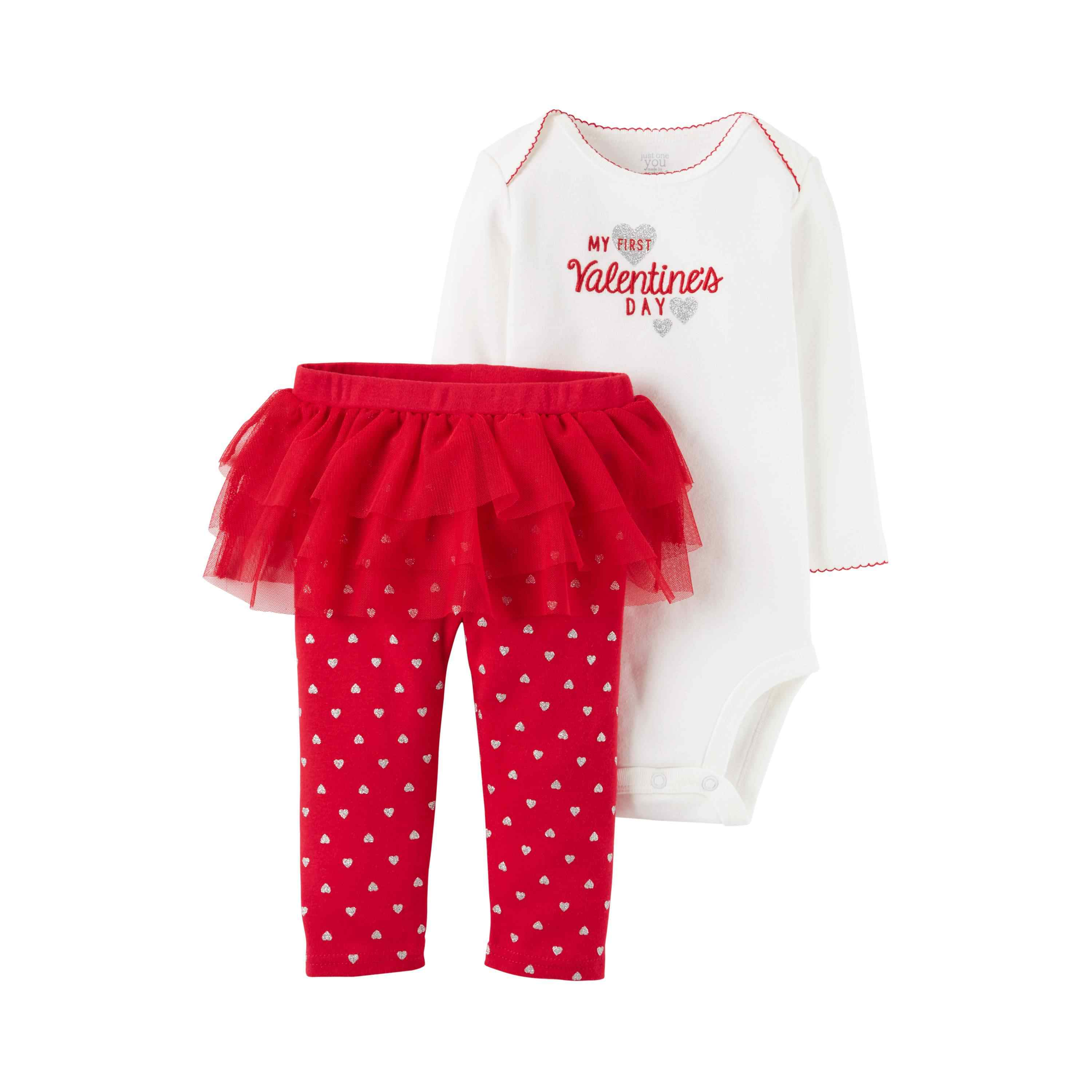 16dfcc626 Baby Girls' My First Valentine's Day 2-Piece Tutu Set Just One You Made by  Carter's. target.com. Celebrating your baby girl's first Valentine's Day?  Dress ...