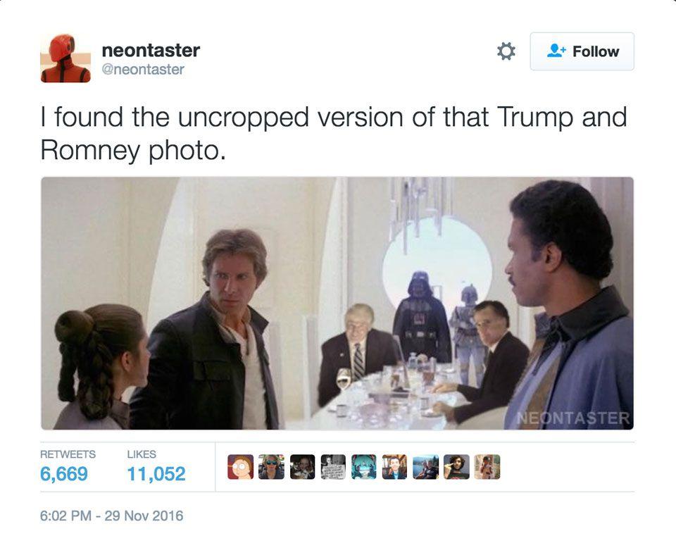 Star Wars - Trump meme