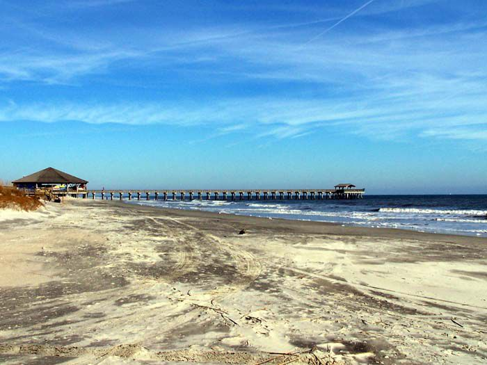 Seascape Reference Photos for Artists: Tybee Island Beach 2