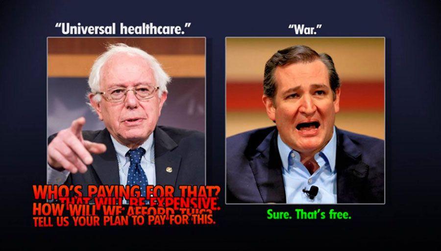 Universal Healthcare vs. War