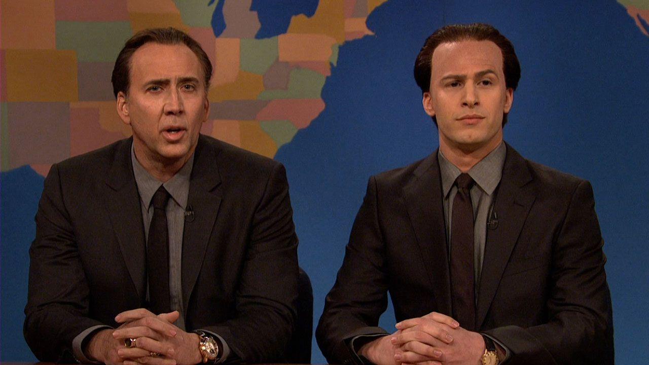 Nicolas Cage on SNL Weekend Update