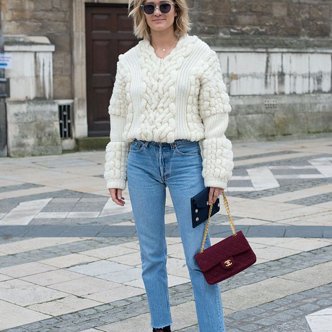 Winter style - street style sweater and jeans