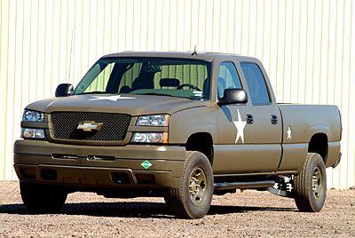2006 Silverado Military Truck