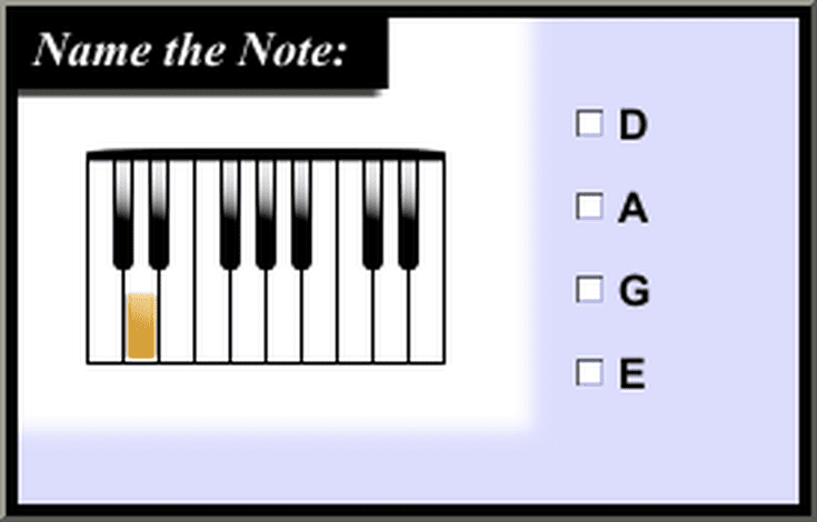 Piano Music Quizzes