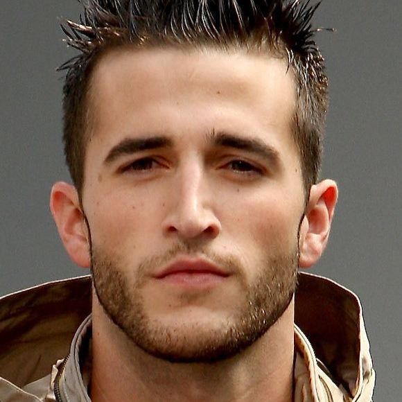 Men\'s Spiked Hairstyles - Classic