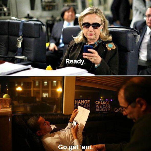 Hillary Text Go Get 'Em
