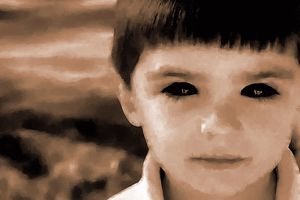 Black eyed child